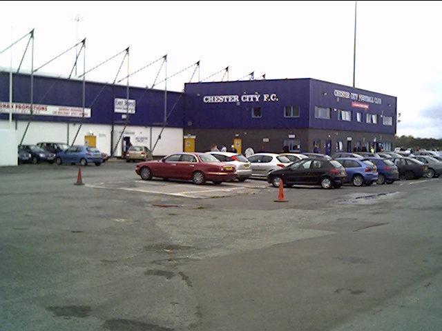 Football Ground of Chester City FC