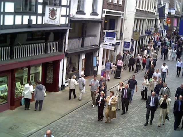 Watergate Street from the Rows