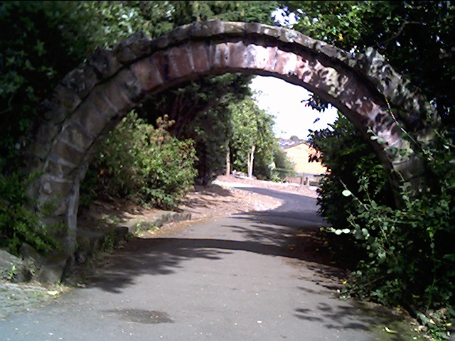 The Old Ship Gate Arch in Grosvenor Park