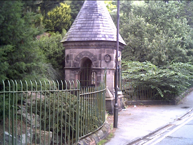 Billy Hobbie's Well, A Natural Spring just outside Grosvenor Park