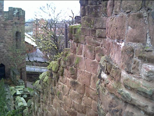Spur Wall, Taken from Bonewaldesthorne's Tower