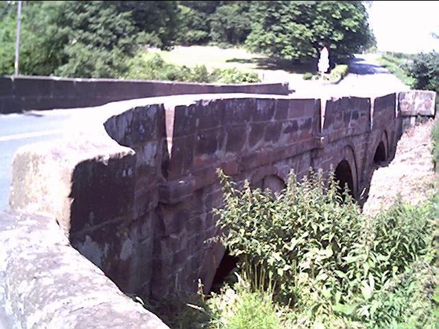 Bridge over the Aldford Brook