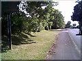 SJ4254 : B5130 going into Farndon by chestertouristcom