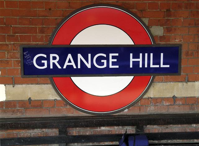 Grange Hill Underground Station