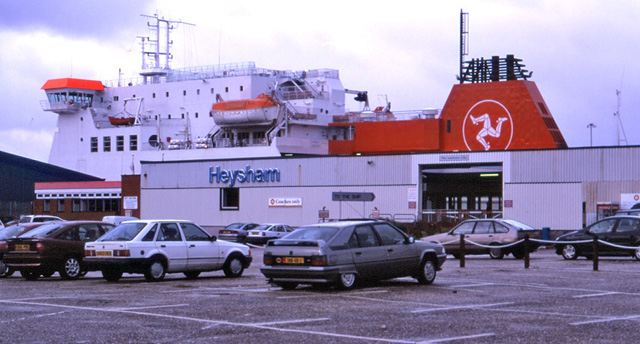 Ben-my-Chree at Heysham Dock