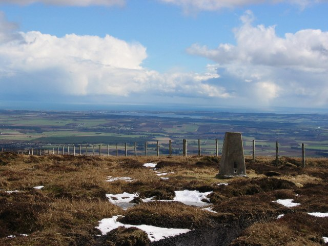 Trig and view on East Wirren.