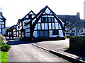 SO4051 : Cruck Building, Weobley, Herefordshire by Doug Elliot