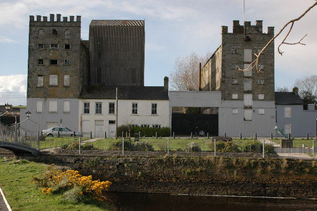 Old Flour Mill and Foley's Store, Glynn's Mills, Kilrush, Co. Clare