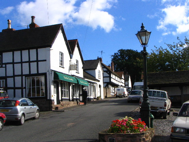 Broad Street, Weobley, Herefordshire