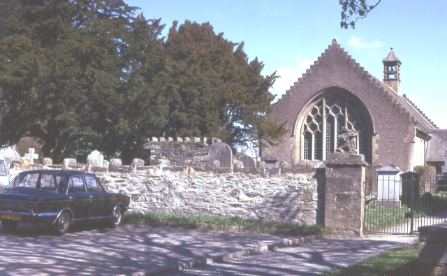 Fortingall Church and Yew
