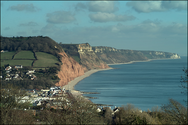Sidmouth and Salcombe Hill Cliff