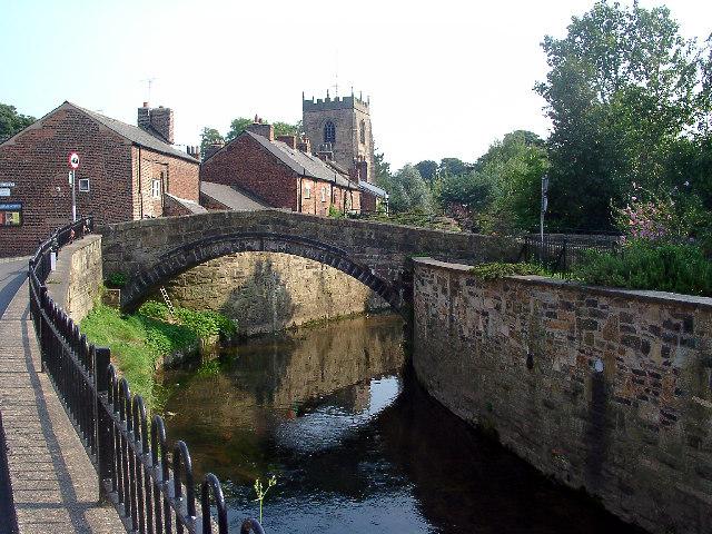 Yarrow Bridge, Croston