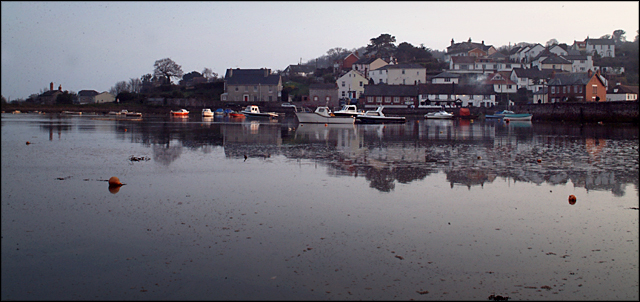 Cockwood harbour and village