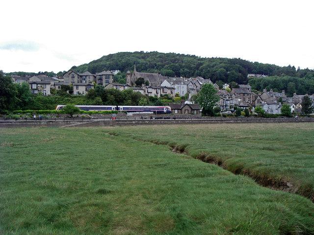 Grange over 'Sands', Cumbria - June 2004