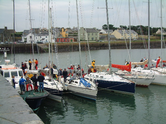 Yachts at Cappagh Pier