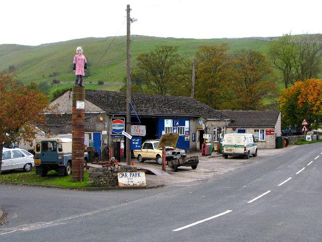 Village Garage, Kettlewell, Wharfedale