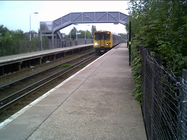 Bache Railway Station near Chester on the Liverpool Line