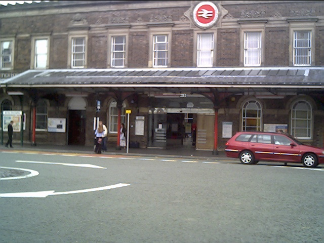 Entrance to Chester Station