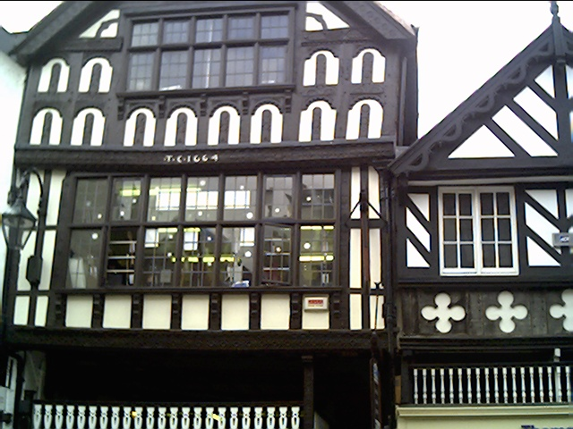 House of old time Mayor of Chester Thomas Cowper 1664