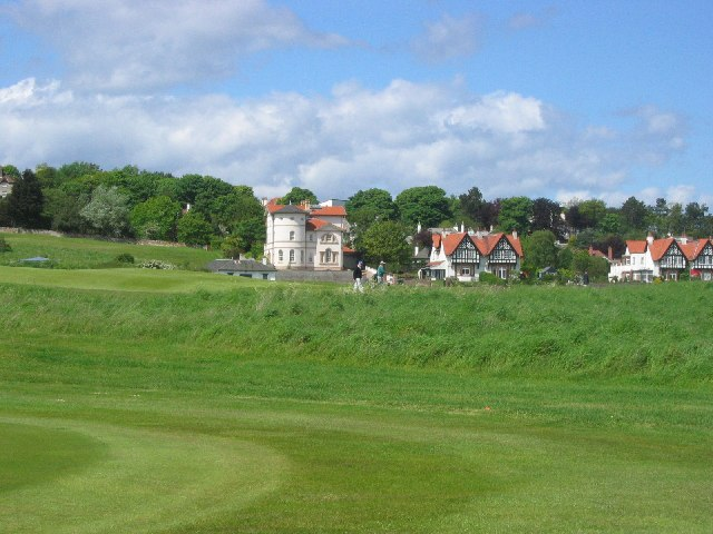 Big houses for golfers, Gullane