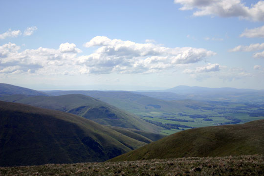 View from East Mount Lowther to the South