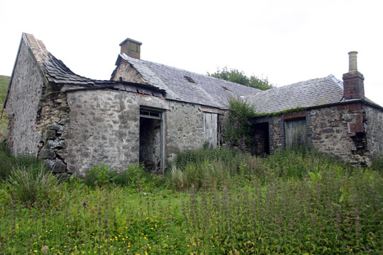 Ruined Cottage at Snarhead