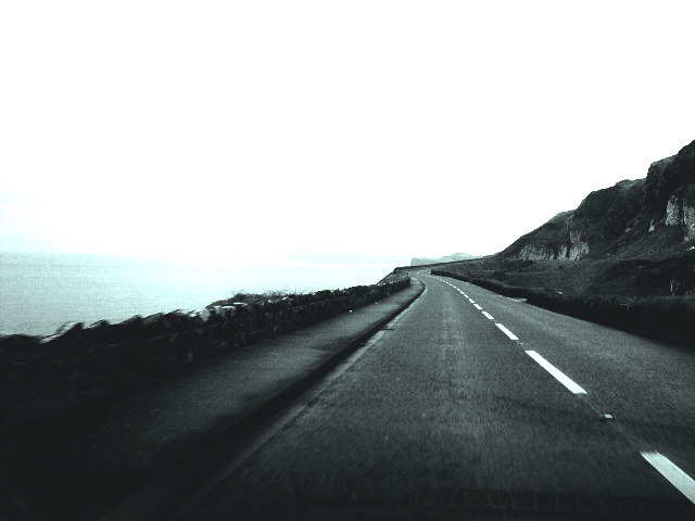 Road From Portrush to Bushmills, NI