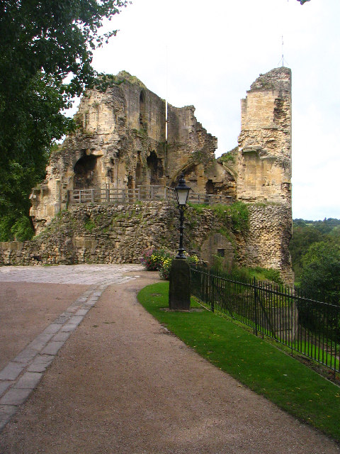 Approach to Knaresborough Castle