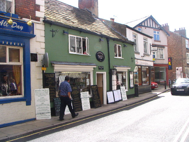 Hannah's House, Castlegate, Knaresborough