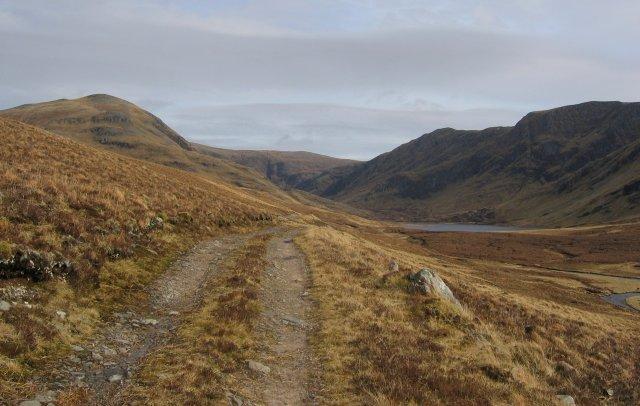 Track into Coire Mor
