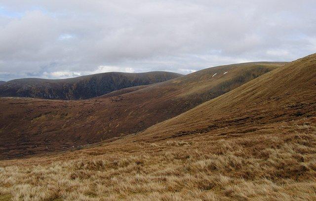 North slopes of Carn Ban