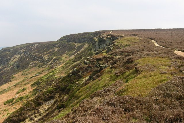 Cringle Moor scarp.