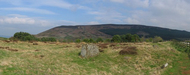 Cringle Moor from Lord's Stones.