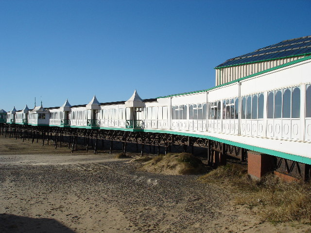 St Annes-on-the-Sea pier