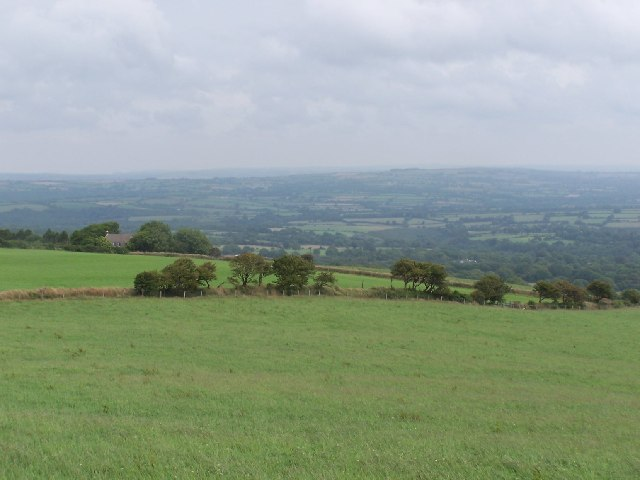 The northern slopes of the Preseli Hills
