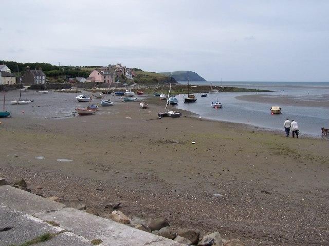 Afon Nyfer Estuary