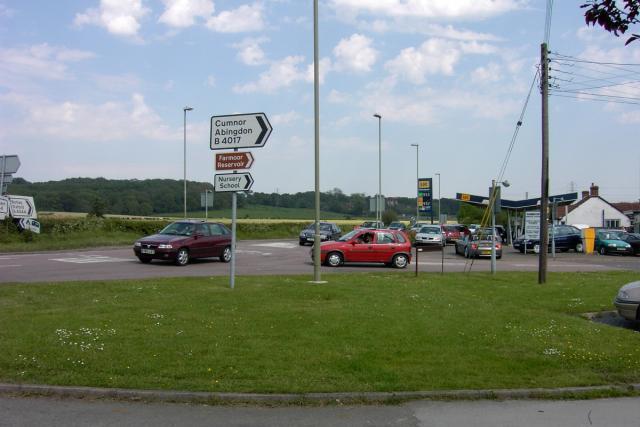 Junction in Farmoor