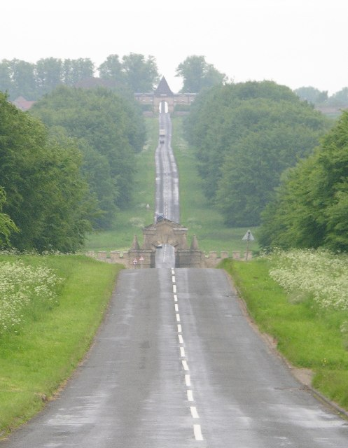 Road to Castle Howard
