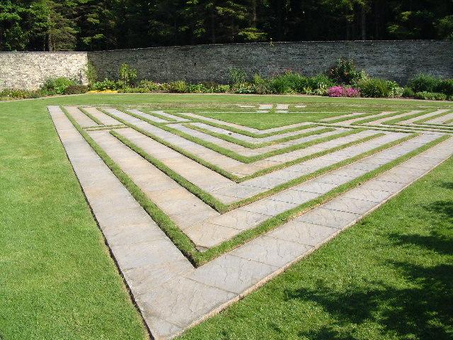 Walled Garden Maze