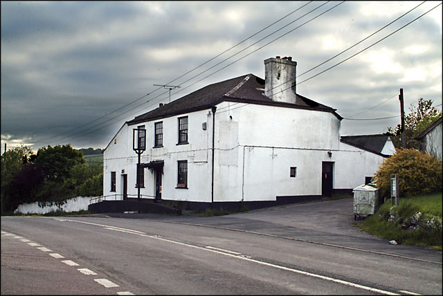 The (former) Toby Jug Inn, Bickington