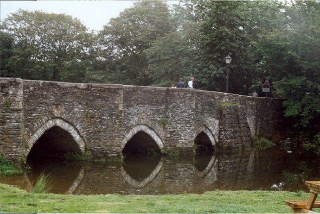 Medieval Bridge, Lostwithiel