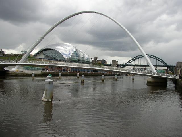 Millennium Bridge - The Sage - Tyne Bridge
