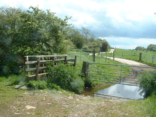 Footbridge & Ford, near Bilsborrow