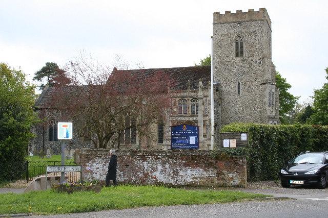 Yaxley, Suffolk - The parish Church