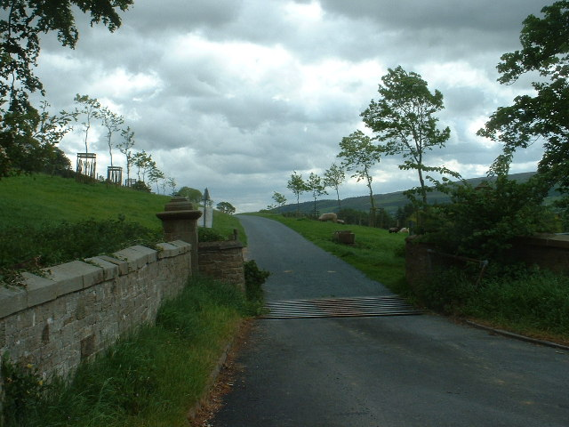 Halton Park entrance
