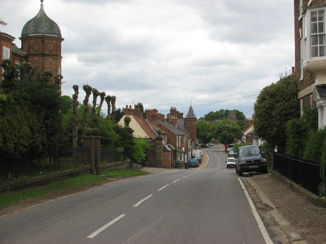 Helperby high street