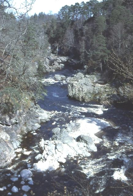 Findhorn  Gorge