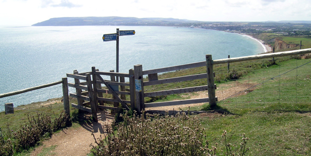 The view from Culver Down (of Sandown Bay)