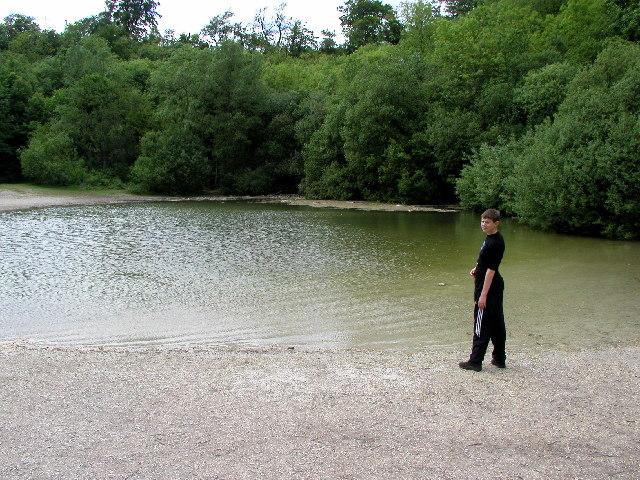 "The Pond at  ""Little Switzerland"""
