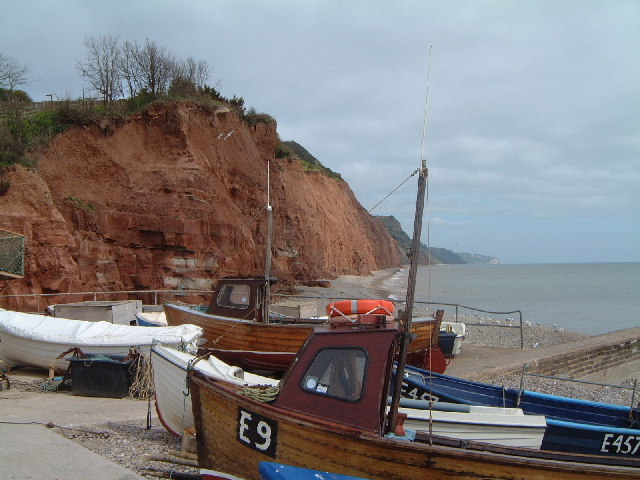 Fishing boats, Sidmouth